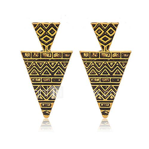 Women's Earrings - Gold Plated Vintage, European, Fashion Gold For Wedding / Party / Daily