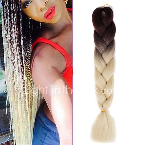 Crochet Ombre Braiding Hair 100% kanekalon hair 1 Jumbo Hair Braid