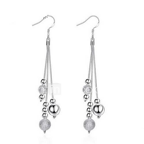 Women's - Sterling Silver Personalized, Tassel, Party Silver For Wedding / Party / Daily