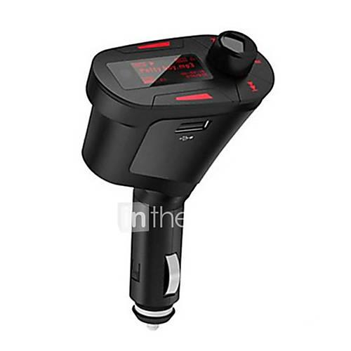 Car MP3 Transmitter EMP3002 Music Player Support TF / U Disk Dual USB Car Charger Universal
