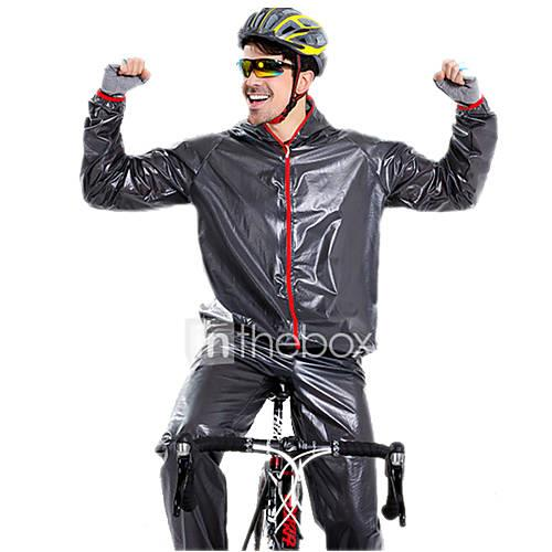 Long Sleeves Cycling Jacket with Pants - White Black Green Blue Bike Clothing Suits, Waterproof, Spring Summer