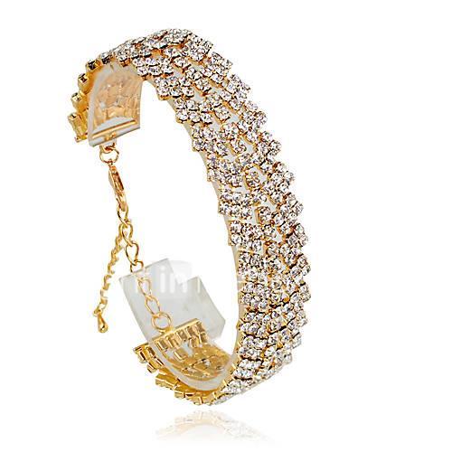 Women's Tennis Bracelet Fashion Alloy Circle Jewelry Wedding