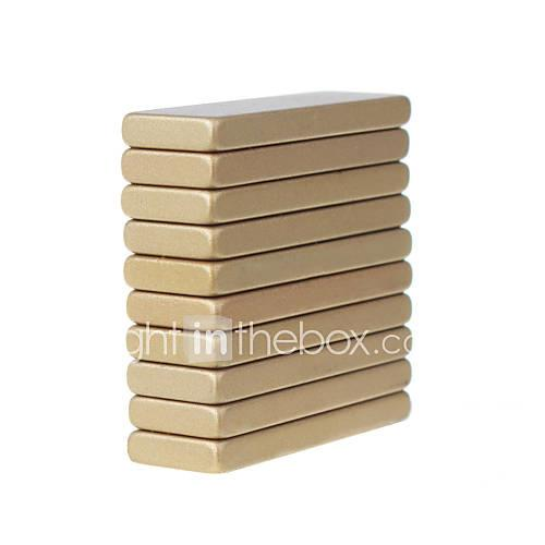 10 pcs 30103mm Magnet Toy Building Blocks / Puzzle Cube / Neodymium Magnet Adults' Gift
