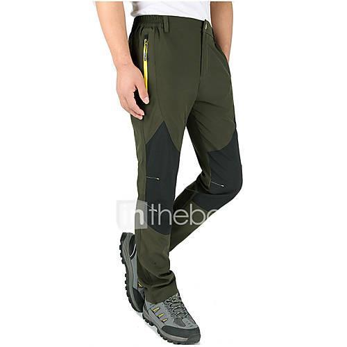 Men's Hiking Pants Windproof, Waterproof, Thermal / Warm Ski / Snowboard / Winter Sports Nylon Pants / Trousers Ski Wear