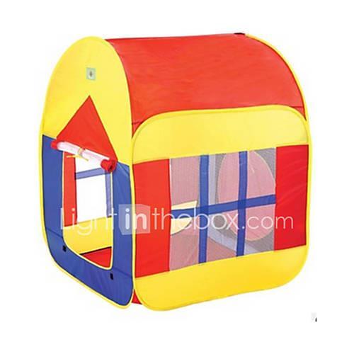 Play Tent  Tunnel Pretend Play House Novelty Nylon Boys' Kid's Gift