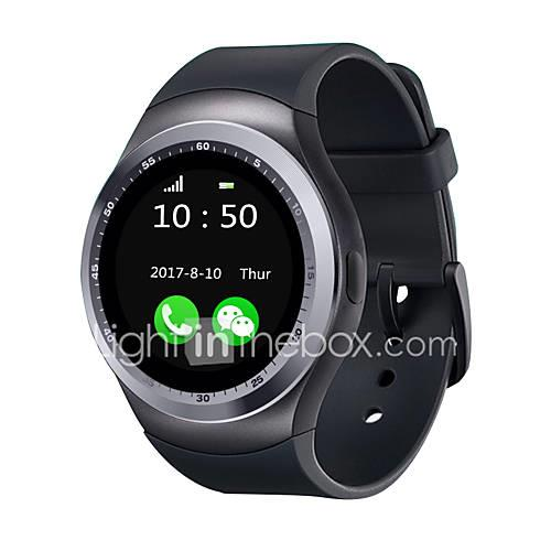 Smartwatch YY Y1 for iOS / Android / IPhone Touch Screen / Heart Rate Monitor / Calories Burned Activity Tracker / Sleep Tracker / Find