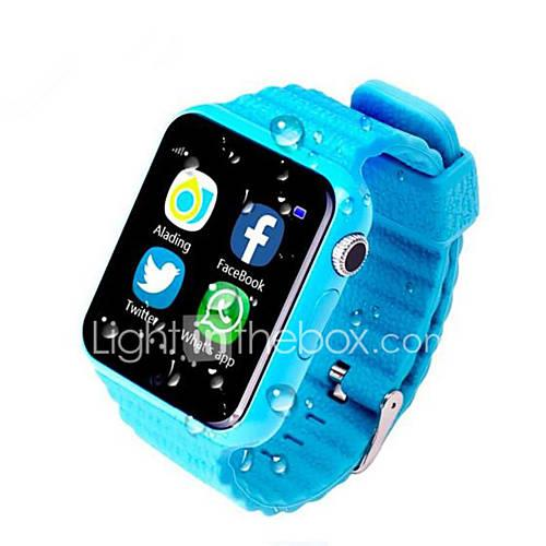 Waterproof Kids GPS Smart Watch Kids Safe Anti-Lost Monitor Watches With Camera/Facebook SOS Call Location Device Tracker