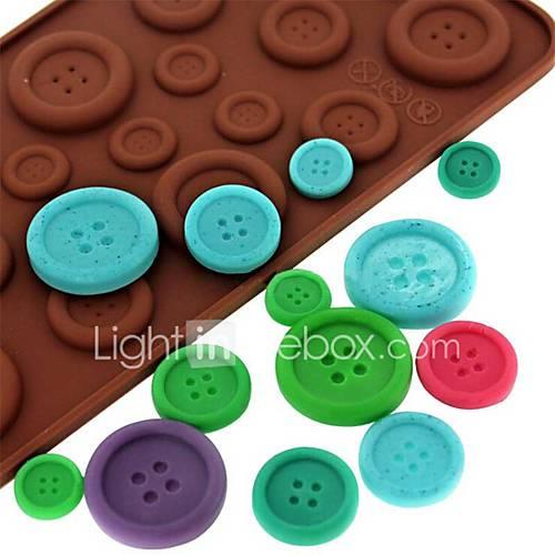Bakeware tools Silicone Eco-friendly / Nonstick / 3D For Chocolate / For Ice / For Candy Mold 1pc