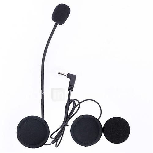 Vnetphone 3.5mm Jack Plug V6 intercom V4 Interphone Headset Accessories Earphone Stereo Suit for V6 Intercom V4 Helmet Interphone Accessories Parts