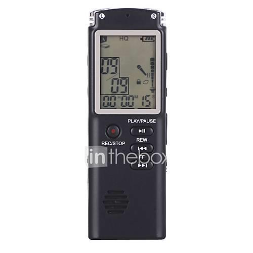 T60 Voice Recorder Built-in Microphone Clock Repetition Function Support 12 Hours Recording Support TF Card