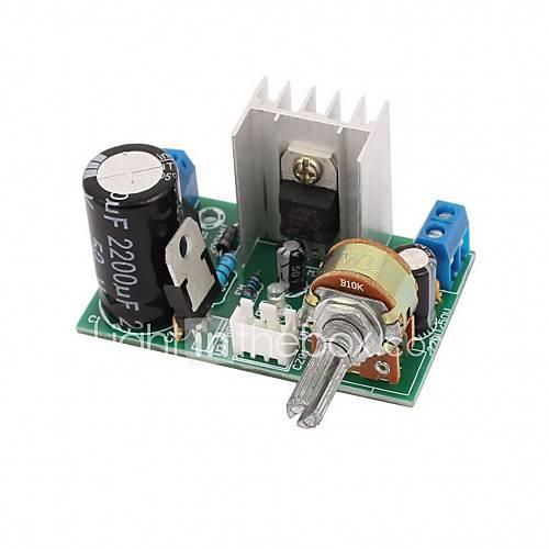 LM317 Power Supply Board Plate With Protection 1.25V-37V 1.5A Continuous Adjustable DC Voltage Regulator