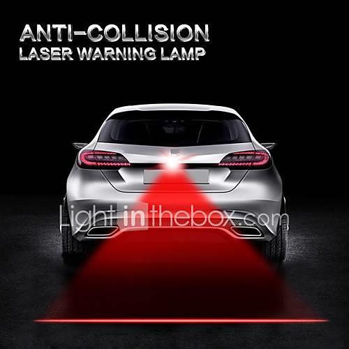 Auto Car Anti Collision Laser Light Automotive Lazer Taillight Fog Tail Lamp Warning Alarm Lights Motorcycle Truck