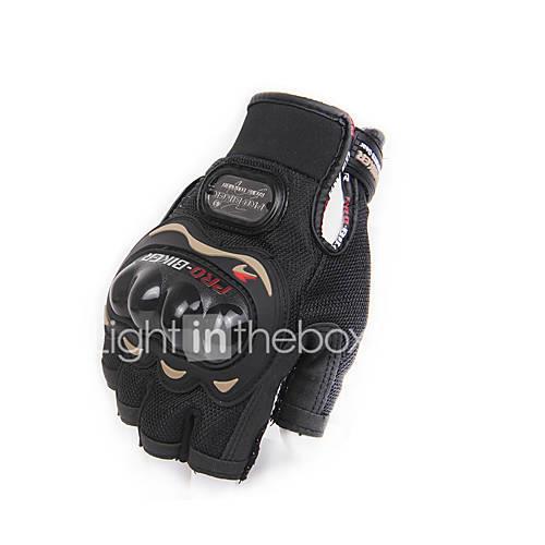 PRO-BIKER Motorcycle Half Finger Gloves Motorcycle Half Finger Protective Gear Racing Gloves M -XXL Size Gloves Motorcycle