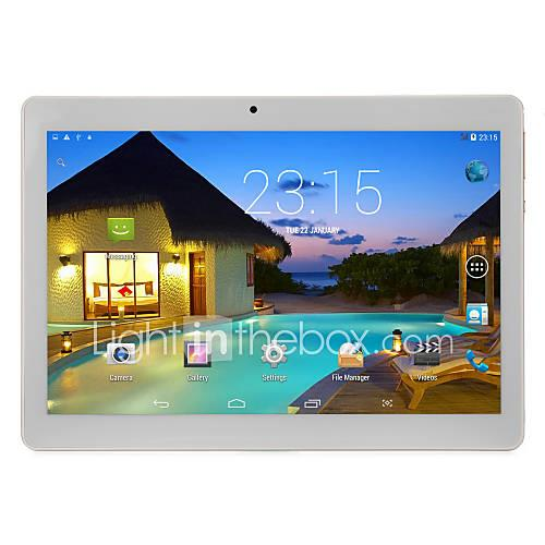 10.1 inch 1280800 IPS 3G Phone Call Andriod Tablet-Gold (Android 5.1 MTK6582 Quad Core 1G RAM 16GB ROM)