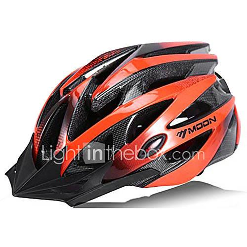 MOON Bike Helmet 21 Vents CE Certified Cycling Half Shell Sports PC EPS Road Cycling Cycling / Bike Mountain Bike / MTB