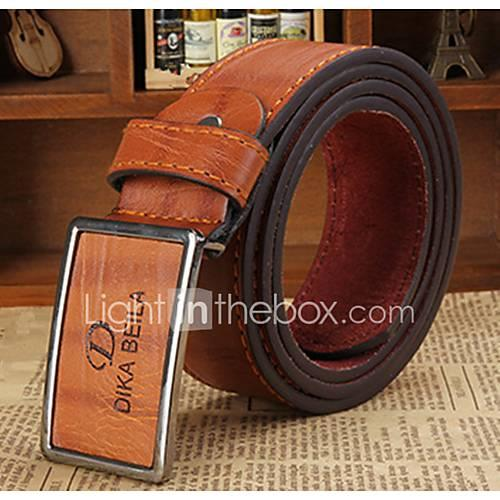 Men's Party / Work / Active Waist Belt - Solid Colored
