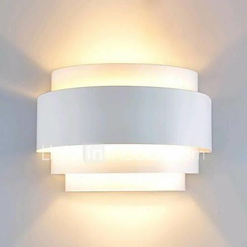 Lightinthebox Modern / Contemporary Flush Mount wall Lights Pathway Metal Wall Light 110-120V / 220-240V 60W