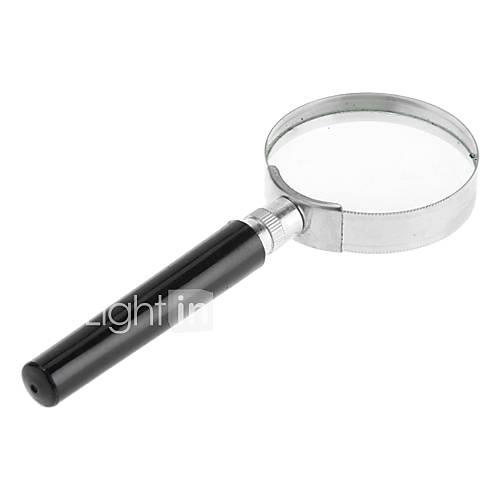 8X 50mm Simple Handheld Magnifying Glass Magnifier