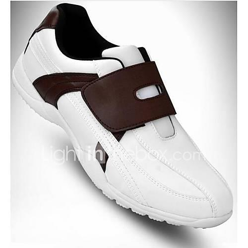 Golf Shoes Men's Golf Cushioning Soft Non-slip Sports Sports Outdoor Performance Practise Leisure Sports Modern Style Stylish Cowsuede