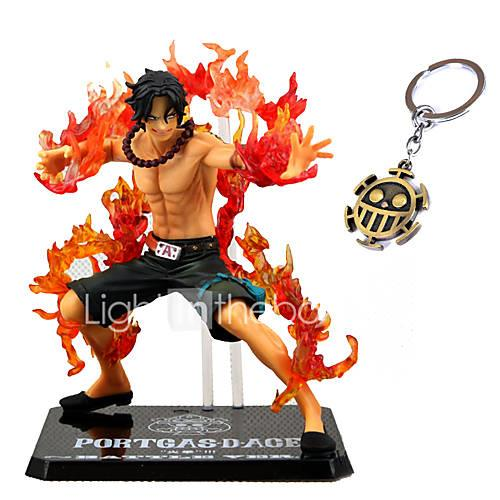 Anime Action Figures Inspired by One Piece Ace PVC CM Model Toys Doll Toy
