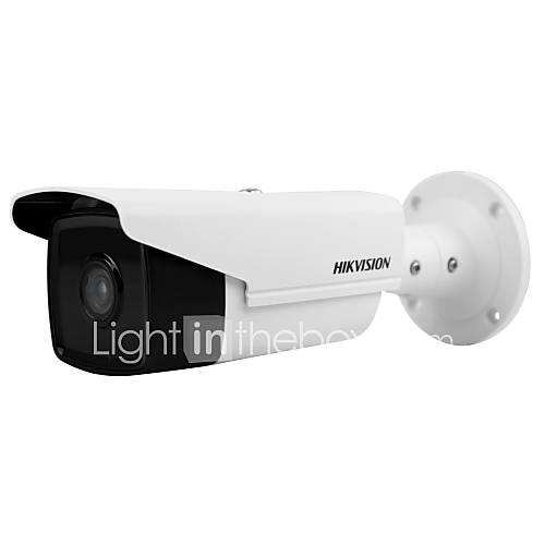 HIKVISION DS-2CD2T85FWD-I8 8MP IP Camera (80m IR 12VDC PoE H.265 IP67 3D DNR Built-in SD Slot 128G Motion Detection)