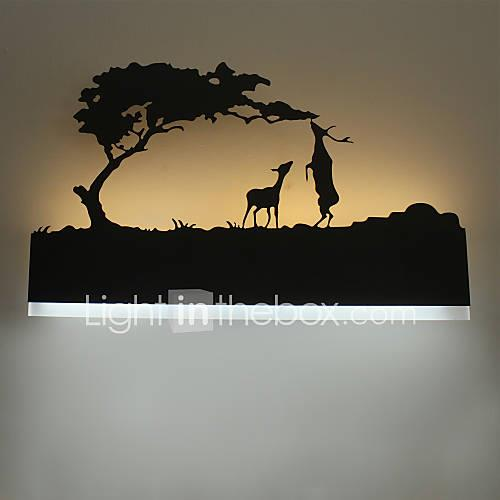 LED The Bedside Lamp Wall Lamp European Creative Modern Minimalist Bedroom Children Room Lightings Stair Lamp Mirror Front  Lamp