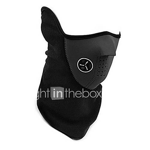 Men's / Women's Ski Mask Windproof, Thermal / Warm, Fleece Lining Winter Sports Polyester, Fleece Pollution Protection Mask Ski Wear / Stretchy