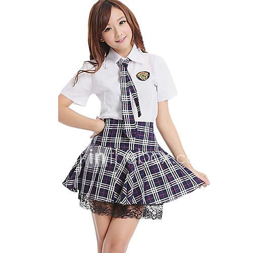 Student / School Uniform Cosplay Costume Party Costume Women's Girls' Halloween Carnival New Year Festival / Holiday Halloween Costumes