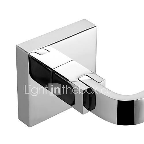 Toilet Paper Holder Contemporary Brass Chrome