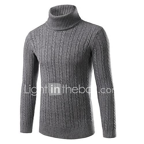 Men's Going out Daily Regular Pullover