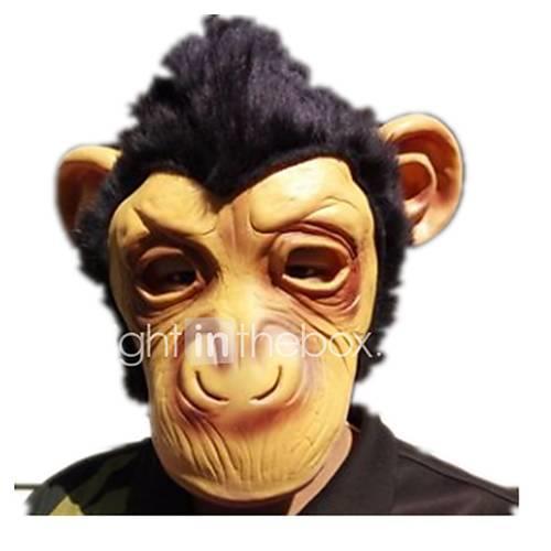 Halloween Masks Animal Mask Toys Monkey Glue Horror Pieces Unisex Gift
