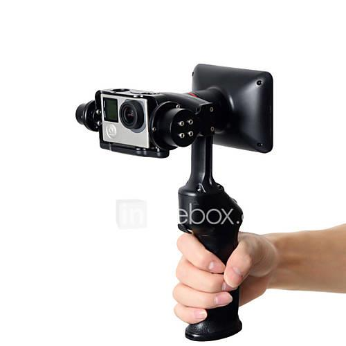 Wenpod GP1 2-Axis Handheld Stabilized Gimbal for GoPro and Similar-sized Sports Action Cameras