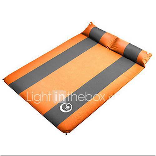 Shamocamel Inflated Mat Sleeping Pad Self-Inflating Camping Pad Outdoor Moistureproof / Moisture Permeability Portable Foldable Inflated