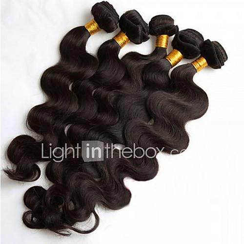Brazilian Hair Body Wave Human Hair Weaves 5 Pieces Hot Sale
