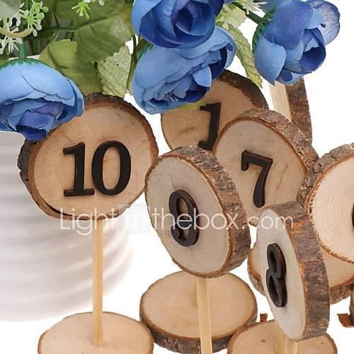 Wooden Ornaments Standing Style 10