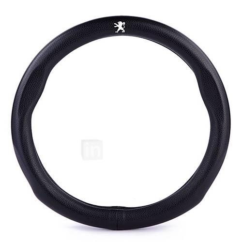 Automotive Steering Wheel Covers(Leather)For Peugeot All years 308 307 408 2008 3008 308S 301