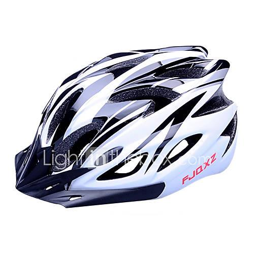 FJQXZ Bike Helmet 18 Vents Cycling Half Shell Sports PC EPS Road Cycling Cycling / Bike