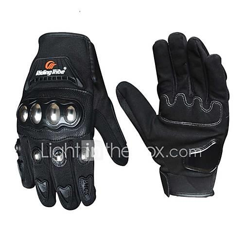 Riding Tribe Motorcycle Gloves Men Women Stainless Steel Shell Touch Screen Riding Motorbike Gloves Guantes Moto Luvas Gants