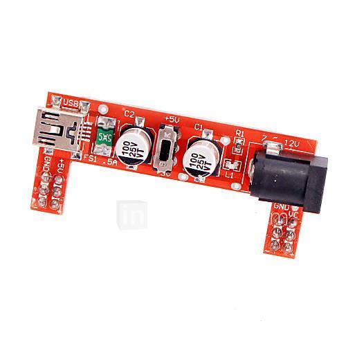 Power 3.3V / 5V Supply Module for MB102 Bread Board
