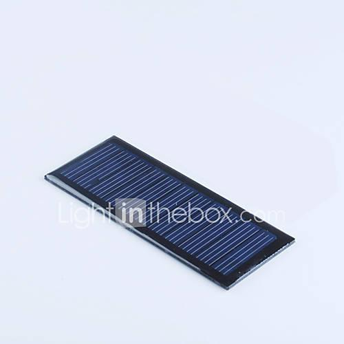 Crab Kingdom of Solar Panels 5.5V60MA Model Production of DIY Toy Accessories 1piece