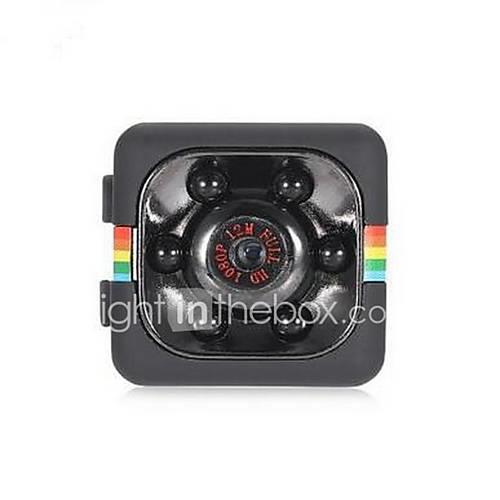 SQ11 Mini Camera 1080P HD DVR 120 Degree FOV / Night Vision / Loop-cycle Recording / Motion Detection