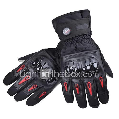 Motorcycle Gloves Waterproof Motorbike Warm Racing Full Finger Moto Motocross Gloves Winter Luvas MTV08