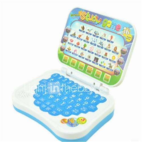 Laptop Toy Computer Educational Toy Characters Music Notes School / Graduation School Lidded Squeak / Squeaking New Design Kid's Gift