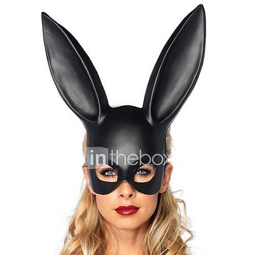 Halloween Mask Masquerade Mask Animal Mask Cartoon Mask Rabbit Novelty Romance Fantacy Fashion Animal Friends Rabbit Classic Animal