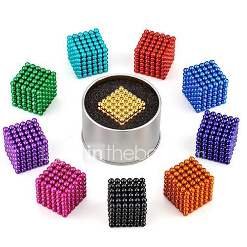 Magnet Toy Magnetic Blocks / Magnetic Balls / Super Strong Rare-Earth Magnets 216pcs 3mm Classic Style Relieves ADD, ADHD, Anxiety,
