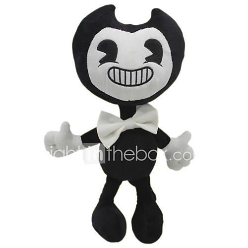 Ghost Bendy and The Ink Machine Police car Plush Toy Stuffed Toys For Children Classic Theme Animals