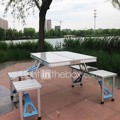 3-4 persons Camping Table Camping Folding Chair Folding Aluminum Alloy for Camping