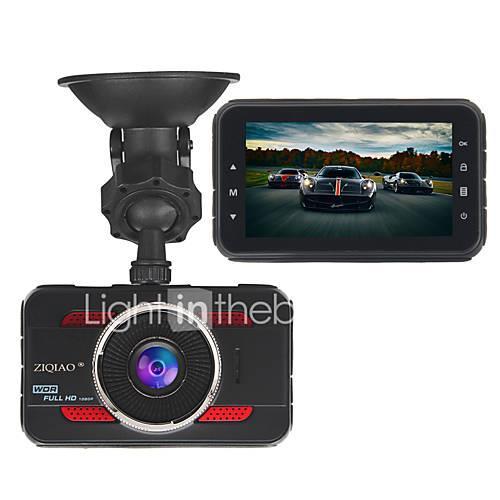ZIQIAO JL-A80 3.0 Inch Full HD 1080P Car DVR Car Camera Video Registrator Recorder HDR G-sensor Dash Cam DVRs