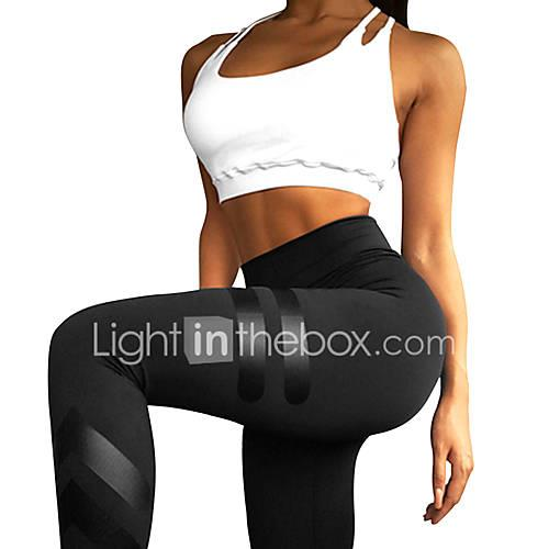 Women's Yoga Pants Sports High Rise Leggings Running, Fitness, Gym Activewear Breathable, Tummy Control Stretchy