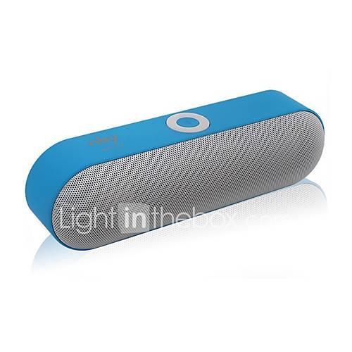LX-NBY-18 Outdoor Bluetooth Speaker Mini Style Bluetooth V3.0 Audio (3.5 mm) 1 x USB TF Card Slot Bookshelf Speaker Black Gray Red Blue